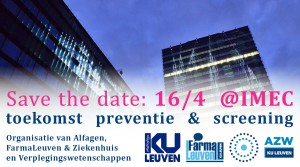 Save the date 16 april 2016